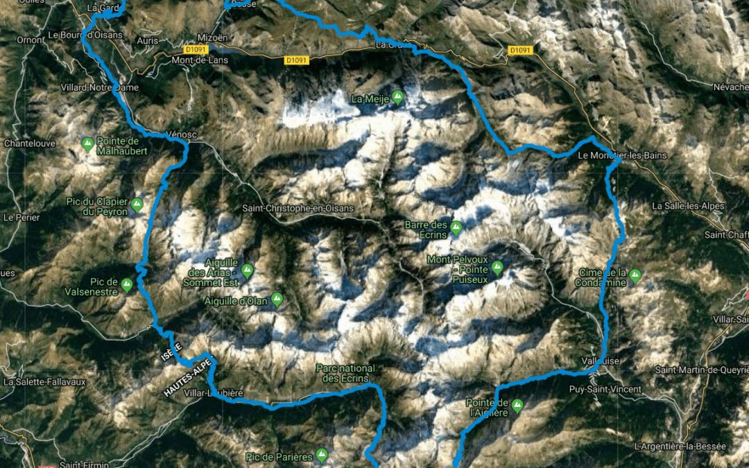 Carte téléchargeable du GR54