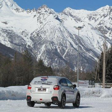 Activité Serre-Chevalier : Conduite automobile sur glace